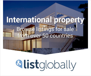 Browse listings for sale from over 50 countries